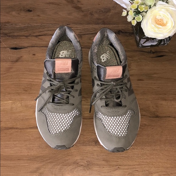 new balance olive wrt96 sneakers